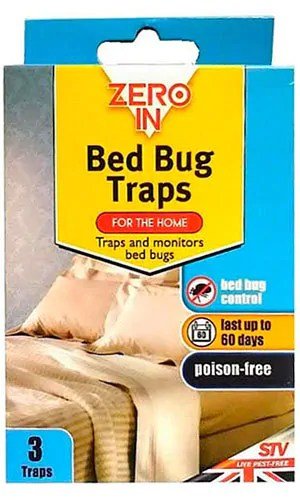 Bed Bug Traps by Zero In