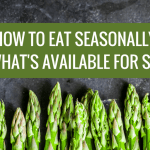 How to Eat Seasonally and What's Available for Spring