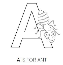 Pre-K Letter Association Bug Worksheets & Activities
