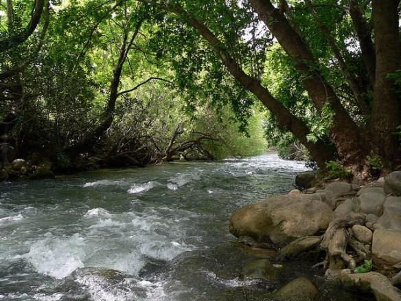 נהר הירדן, תמונה ארנון הדס