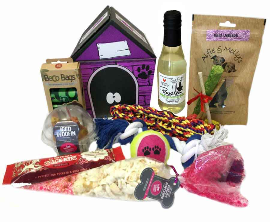 Birthday Woofin & Pawsseco Hamper For Dogs