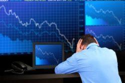 株価下落、円高