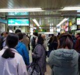 高崎線ストップ 桶川駅の様子