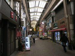 大阪西成区商店街