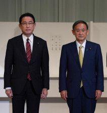 菅義偉首相 岸田文雄・前政調会長