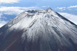 富士山 20210907冠雪