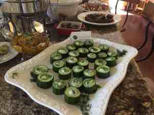 Cucumbers, Dill, Cream Cheese, Appetizer