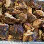 Jamaican food, chicken, jerked chicken