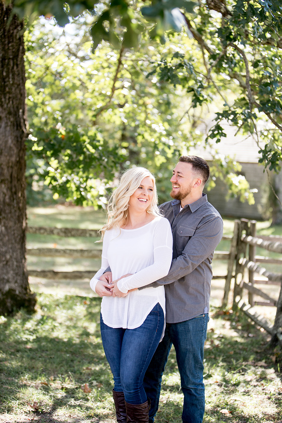 fall engagement session at batsto