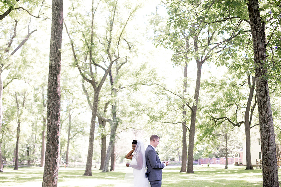 couple do a first look at allaire state park