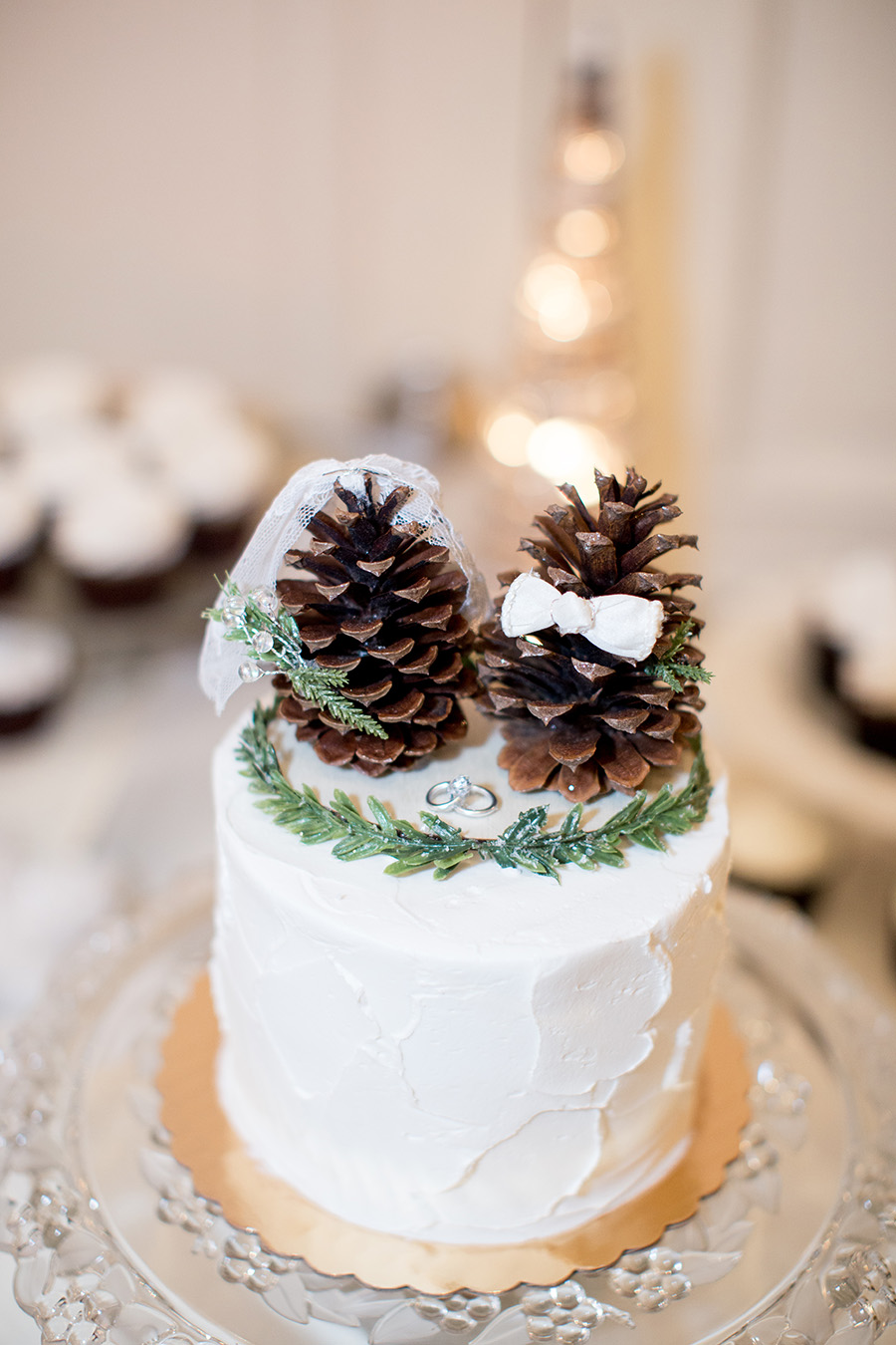 winter wedding at eastlyn golf course