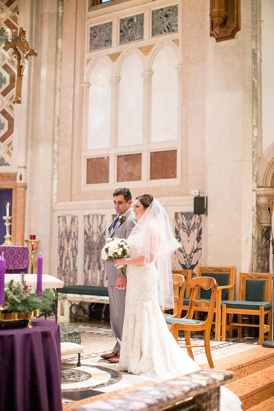 wedding sacrament at catholic church