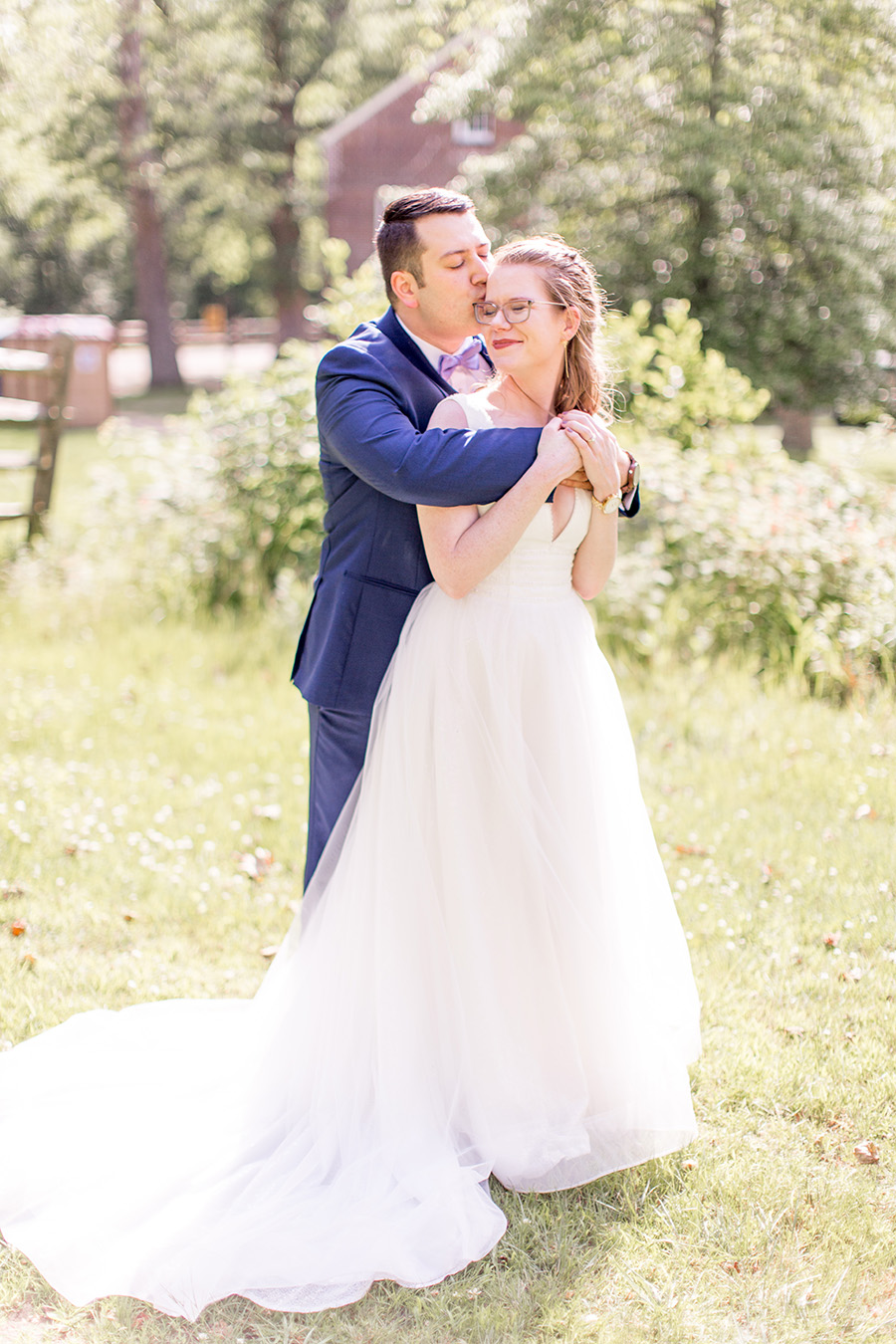 wedding portraits at allaire state park