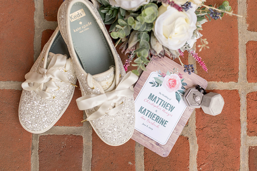 wedding day details at ironstone ranch