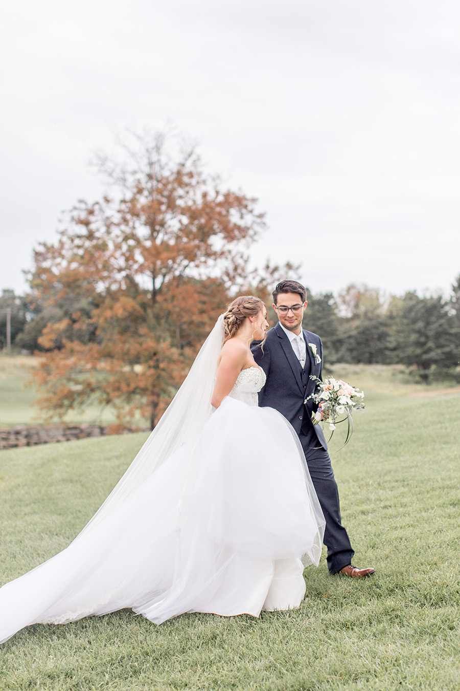 september wedding at philly area golf course