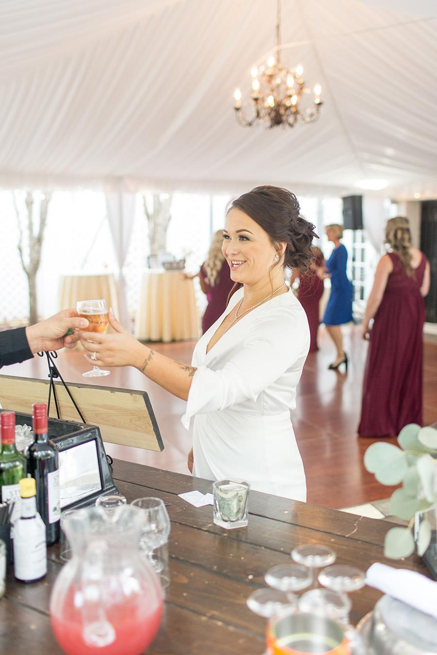 Signature drink at wedding