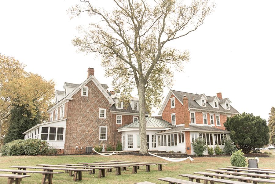 fall wedding at Eagle Manor