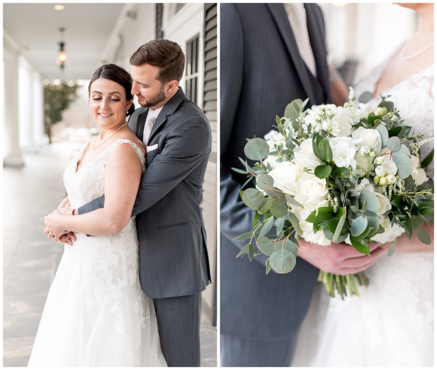 classic wedding day details