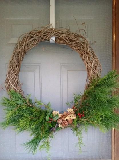wreath grapevine