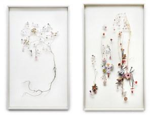 picture of two works by Anne ten Donkelaar.