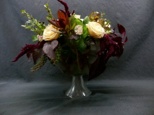picture of wide footed vase