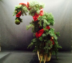 picture of Grinch tree
