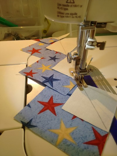 chain piecing 1