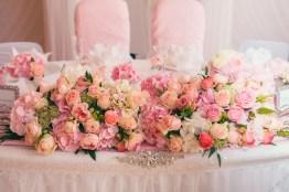 Decoration wedding flowers rings bride