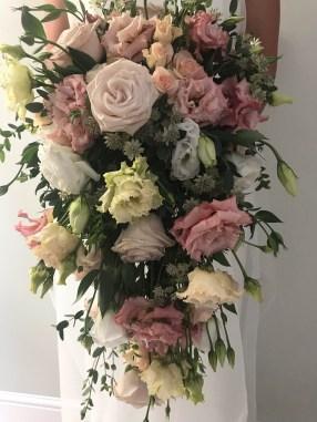 pastel wedding shower bouquet 2