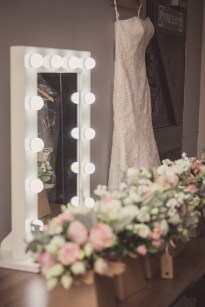 wedding drress shot