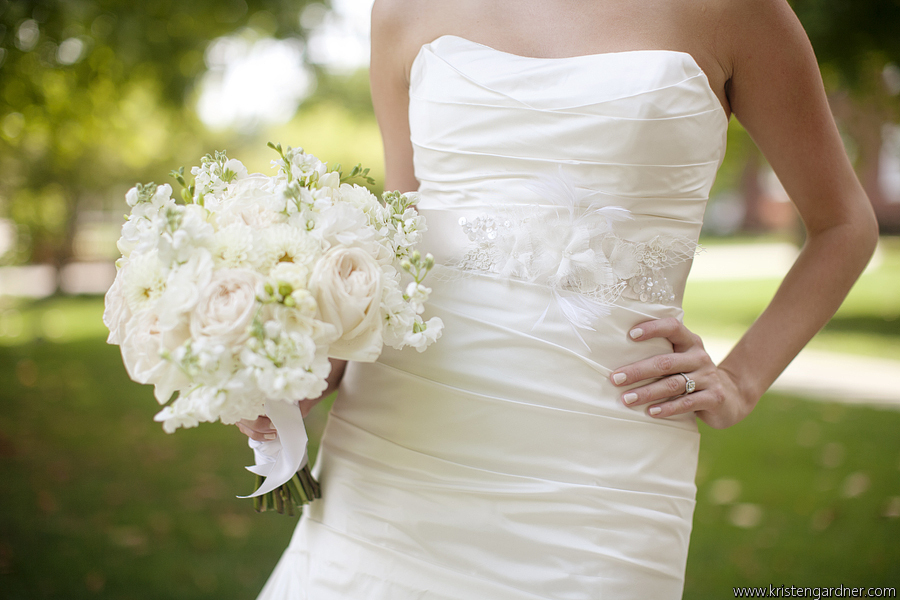 Ask the florist white flowers ivory dress petals edge floral photo by kristen gardner photography mightylinksfo