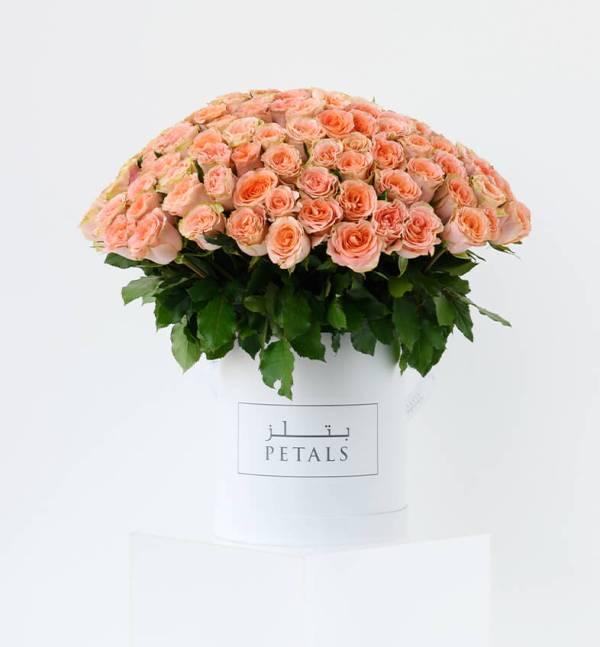 Petals Signature Floral Design - Modest Peach