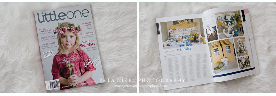 Hobart Baby Photographer magazine feature