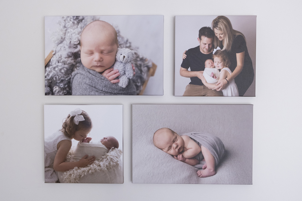 Wall Art Newborn Photography