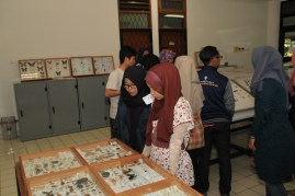 Kunjungan peserta ke museum