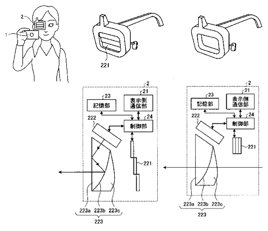 Olympus Patents a Monocle Viewfinder