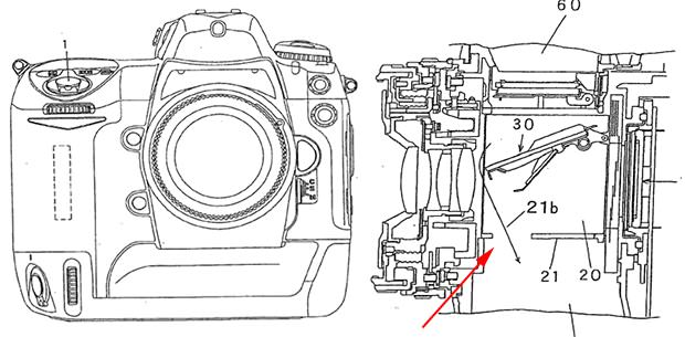 Nikon Pro DSLR Patent Shows New Dust Reduction Feature