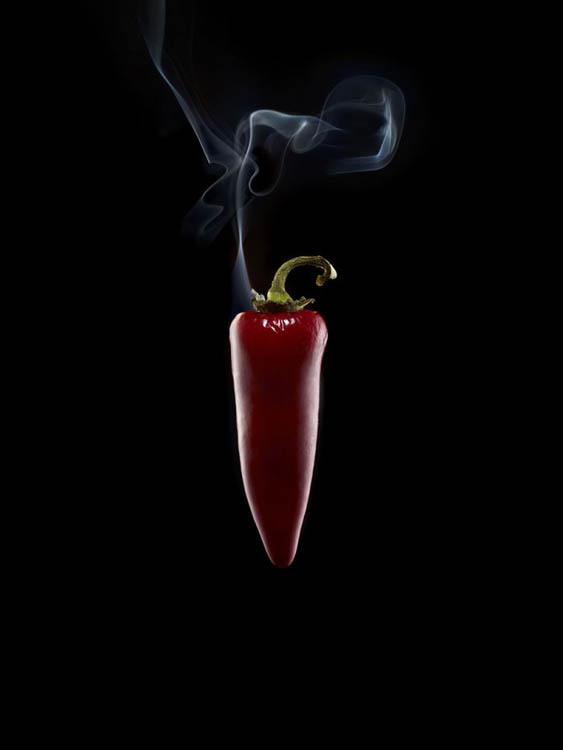 Photos Of Exploding Chili Peppers Using Firecrackers And A