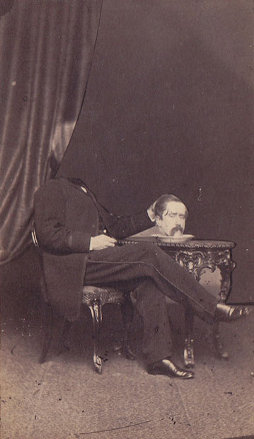 Headless Portraits From the 19th Century