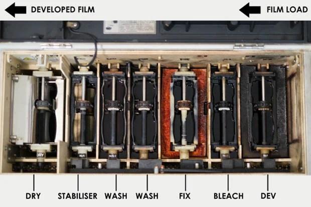 C-41 film processing