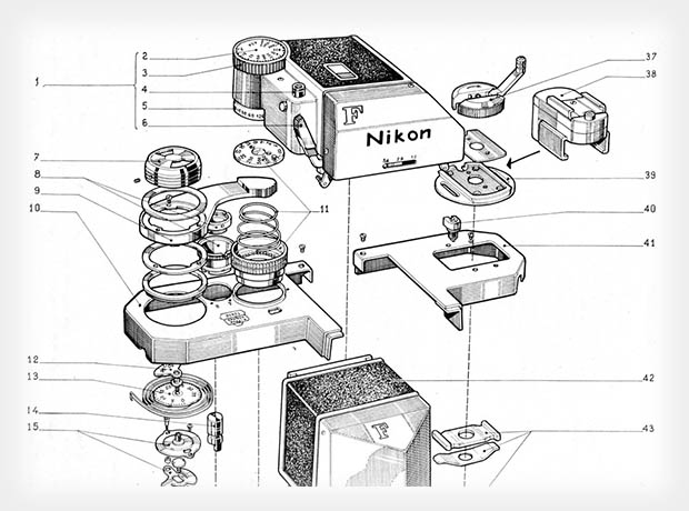 slr camera diagram jayco travel trailer wiring these schematics offer an exploded view of old nikon cameras