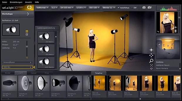 studio lighting diagram hotpoint fridge thermostat wiring simulate in a virtual photo with set light 3d virtualstudio