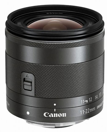 Canons 11 22mm f/4 5.6 Wide Angle for the EOS M Will Not be Coming to the US Canon EF M 11 22 Vertical