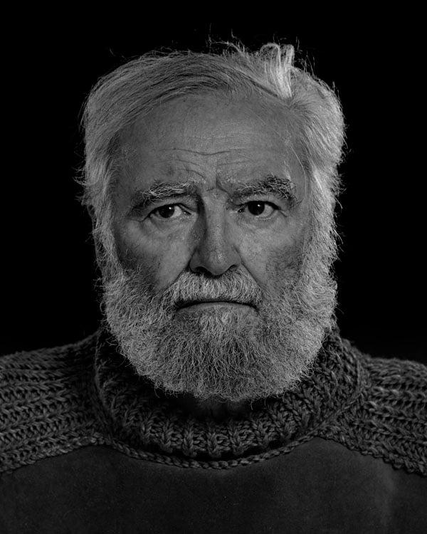 Portraits of the Bearded Men in an Ernest Hemingway Look Alike Contest DENIS GOLDEN 0025 1