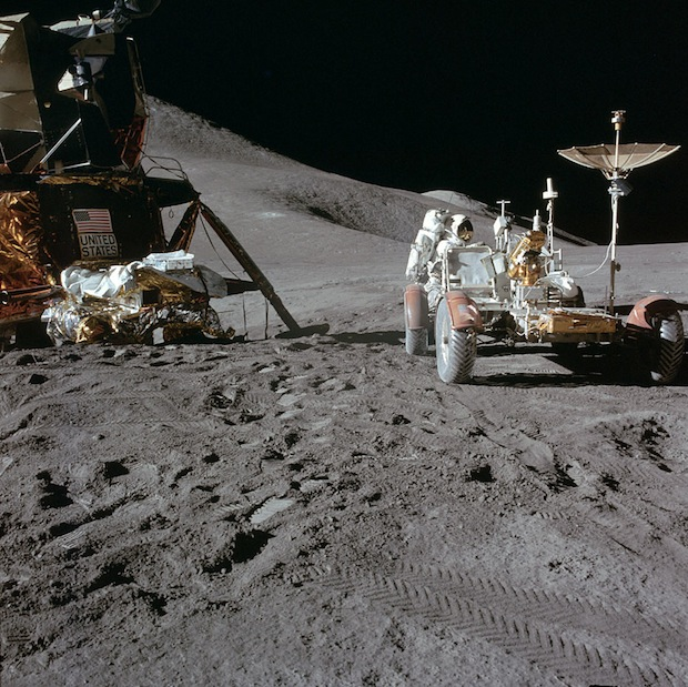 Incredible Online Gallery of High Res Film Scans from Every Apollo Mission apollo15 1