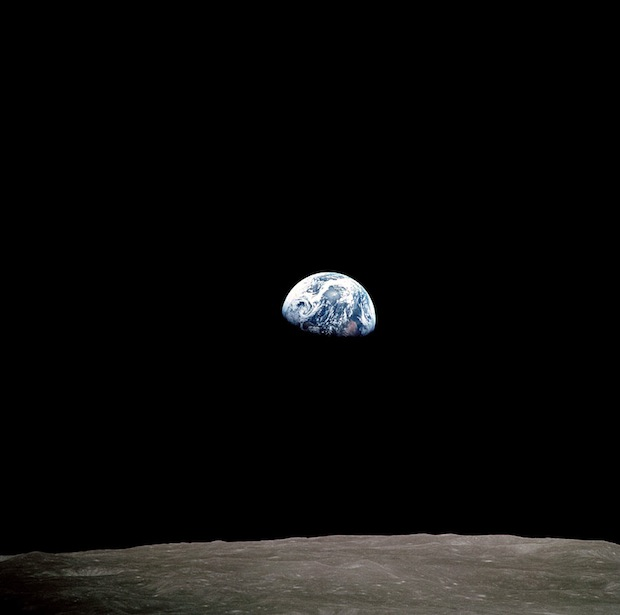 Incredible Online Gallery of High Res Film Scans from Every Apollo Mission apollo8 1