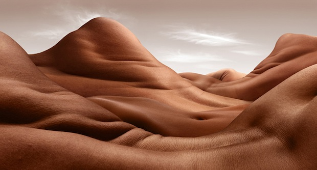 Bodyscapes: Creating Landscape Photos With the Human Body bodyscapes