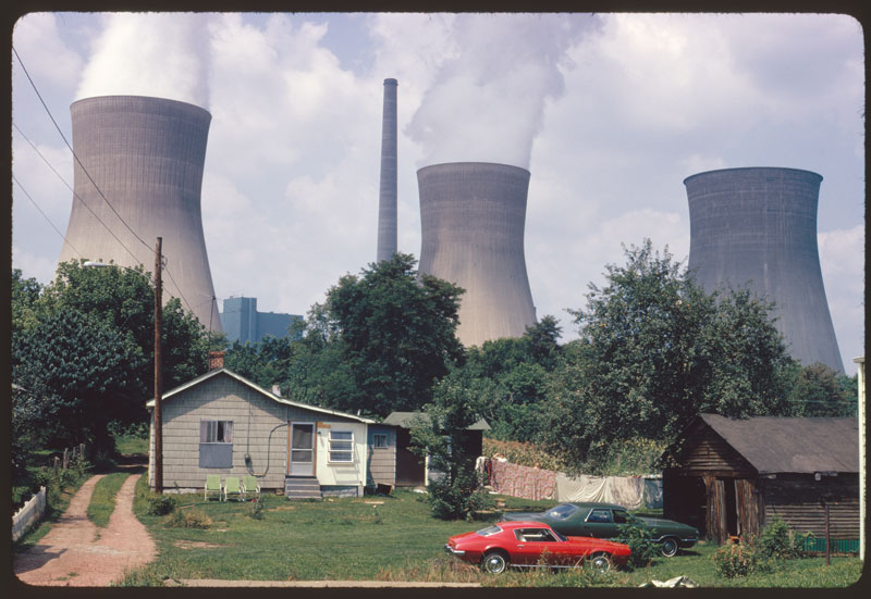 Your Government at Work: Documerica Chronicles 1970s America cooling towers l