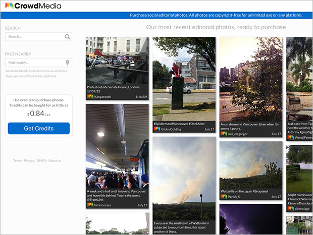 CrowdMedia to Disrupt Photojournalism Industry with Crowdsourced Social Pics crowdmedia
