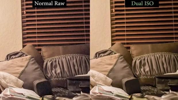 Video Comparison Puts Magic Lanterns Dual ISO Hack to the Test dualisocomparison1